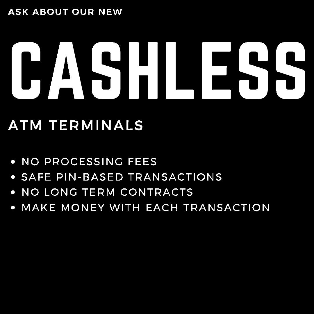 cashless ATM